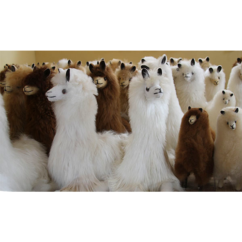 Peluches de Alpaca