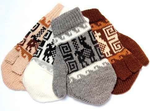 guantes de alpaca