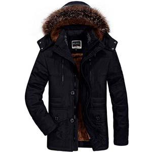 abrigo alpaca hombre